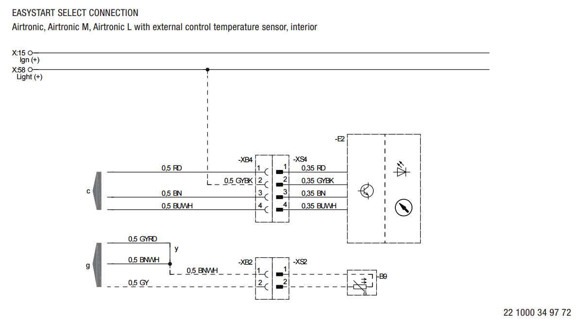 espar d2 heater wiring diagram espar eberspaecher d2 heater installation in a sprinter fiat scudo heater wiring diagram